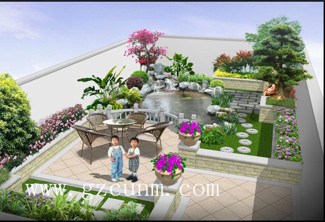 别墅鱼池设计