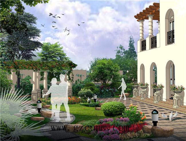 别墅园林景观设计