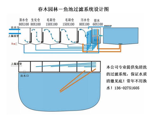 鱼池过滤系统设计图