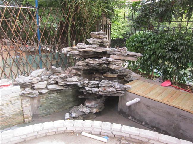 别墅鱼池过滤系统设计图