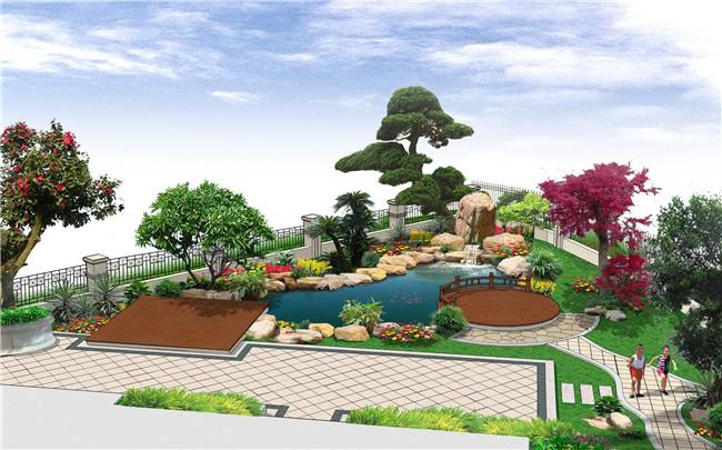 方形场地景观设计