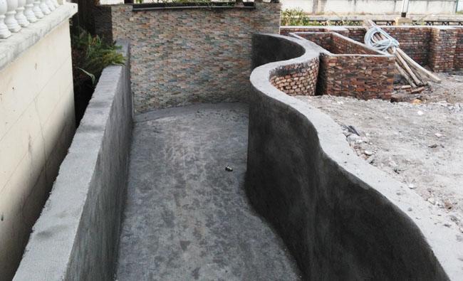 庭院锦鲤鱼池,景观鱼池,鱼池过滤系统设计,全自动过滤循环系统,水质