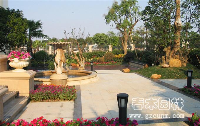 别墅花园景观设计实景图